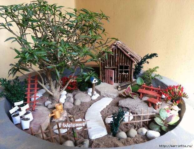 Миниатюрный сад своими руками (21) (700x537, 361Kb)