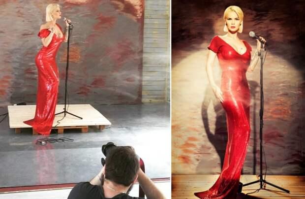 Неординарный винтаж, или до и после: фотосет о том, как на самом деле проходит фотосъёмка