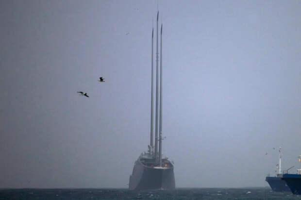 Яхтовый метод Миллиардер Мельниченко спустил на воду самую большую парусную лодку в мире. Небо над Красноярском останется черным