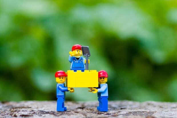 По кирпичику: жизнь и интерьер в стиле Lego