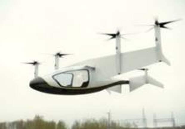 Rolls‐Royce представил концепт летающего такси