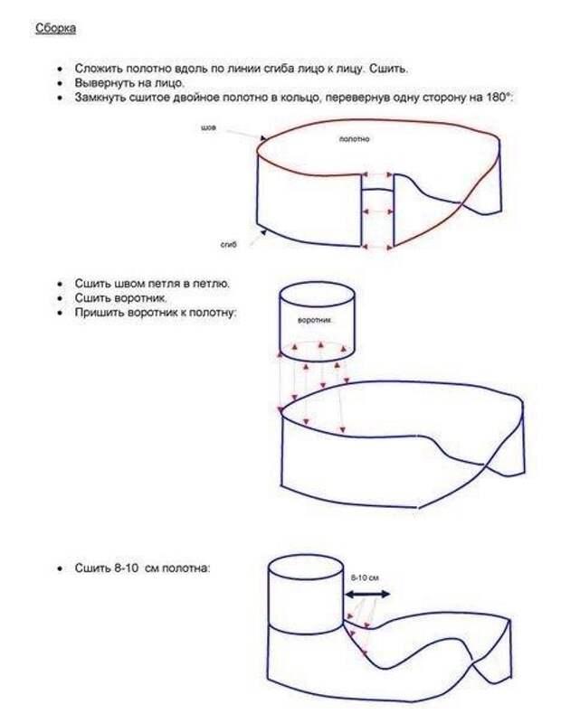 Манишка-трансформер (Diy)