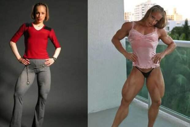 7. Моника Моллика steroid, девушки, качки, спорт