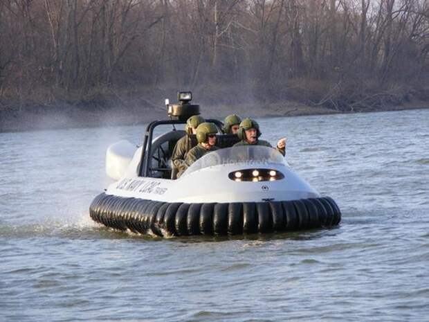 Катер на воздушной подушке Neoteric Hovertrek авто, броневик, военная техника