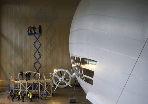Самое большое воздушное судно – дирижабль Airlander 10