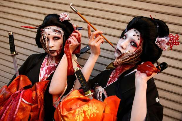 Хеллоуин в Японии