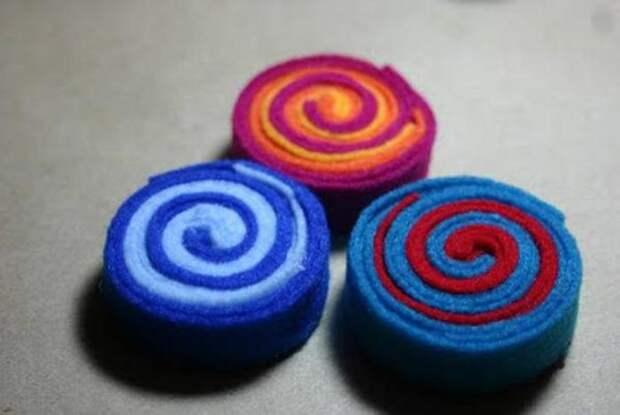 Новый год из фетра: конфеты на елку. Как сделать новогодние игрушки из фетра своими руками