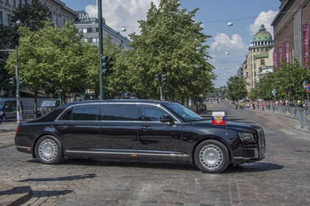 Тайны кортежа Путина: еще один лимузин и пропавший минивэн