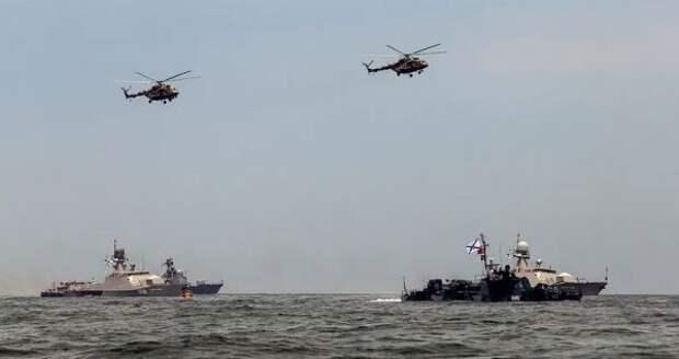 Корабли Каспийской флотилии завершили переход вЧерное море