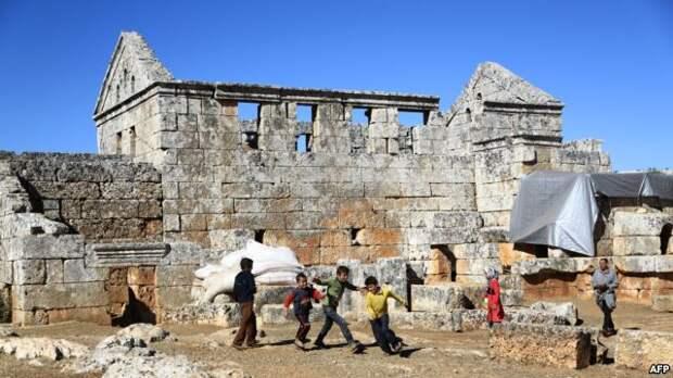 Поселок Серджилла в сирийской провинции Идлиб (архивное фото)