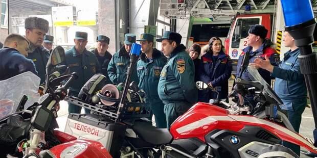 Спасатели из Армении переняли опыт московских коллег