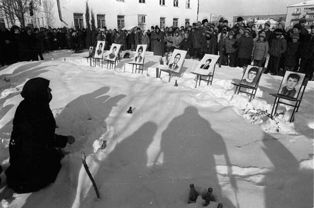 Южная Осетия во время столкновений с грузинскими войсками в 1992 году