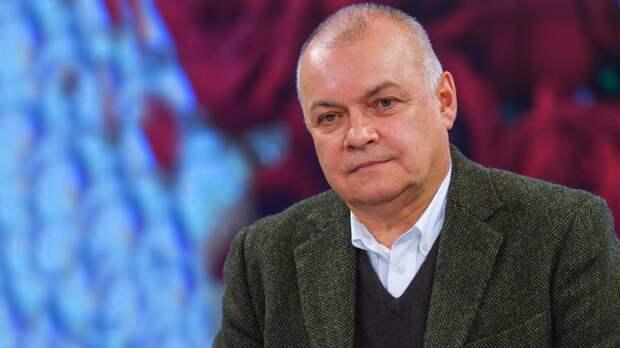 Дмитрий Киселев отреагировал на смерть Лужкова. ФАН-ТВ