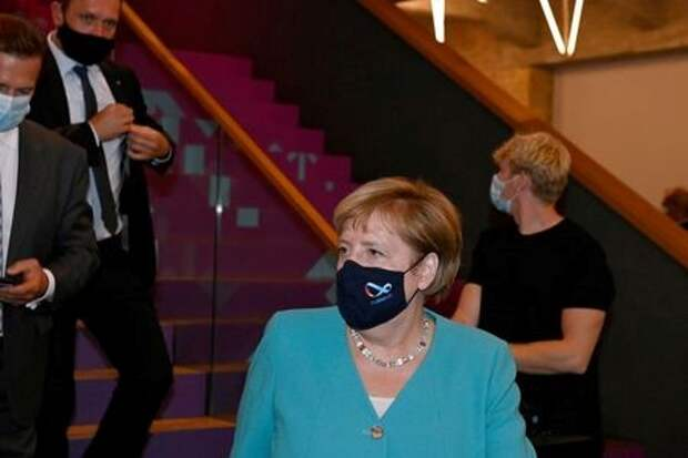 Канцлер Германии Ангела Меркель в Берлине, Германия, 2 сентября 2020 года. Tobias Schwarz/Pool via REUTERS