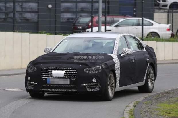 Прототип 2017 Hyundai Equus