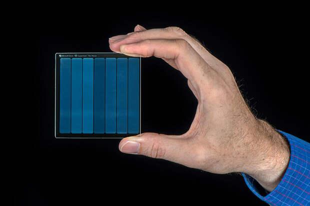 По заветам фантастов. Microsoft Project Silica — 75,6 ГБ данных в маленьком куске стекла