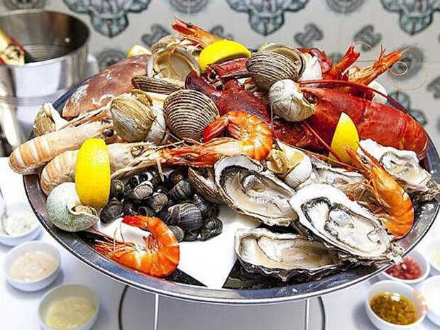 Вкусно и полезно. Морепродукты