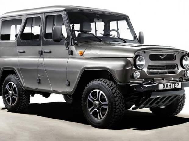 УАЗ выводит на рынок спецверсии внедорожников Хантер и Патриот