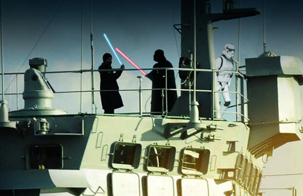 Разоблачение: Снимок ПЗРК на корабле признали фотомонтажом