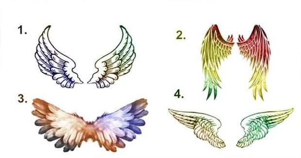 Какой архангел направляет вас, тест крылья,