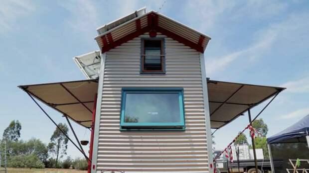 дом на колесах фасад 2: Дом на колесах