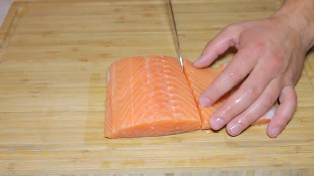 Сашими из лосося и тунца Еда, Рецепт, Рыба, Сашими, Японская кухня, Длиннопост, Видео