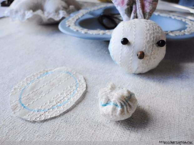 Лоскутное шитье. Кошелек с кроликом (33) (700x524, 257Kb)