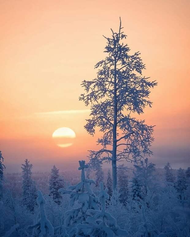 Исландия и Финляндия на атмосферных фотоснимках
