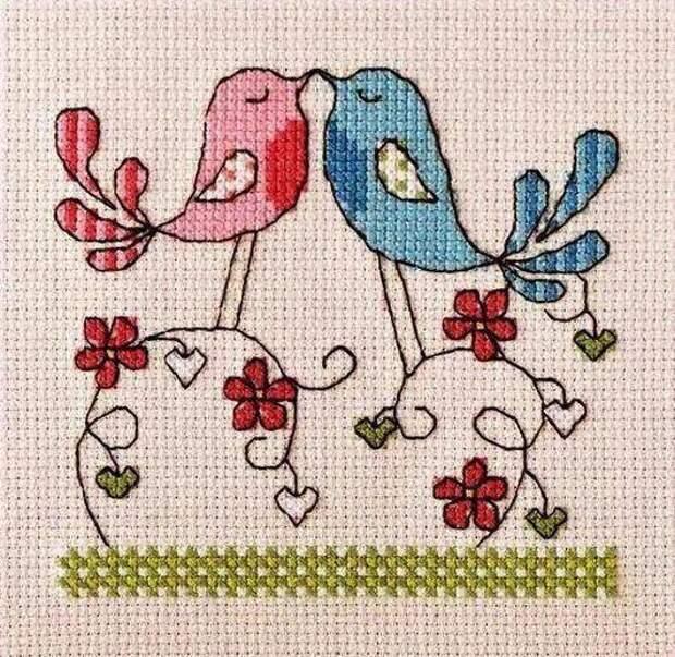 Вышивка крестом для начинающих вышивка для детей