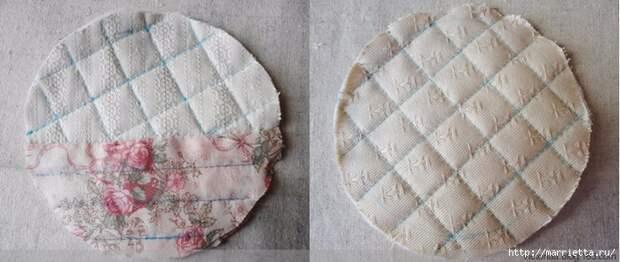 Лоскутное шитье. Кошелек с кроликом (14) (700x296, 189Kb)