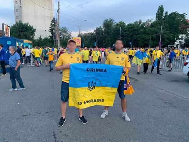 Румынская полиция поставила на место украинских футбольных фанатов