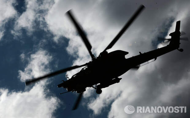 Россия скоро начнет испытания новейшего ударного вертолета Ми-28НМ