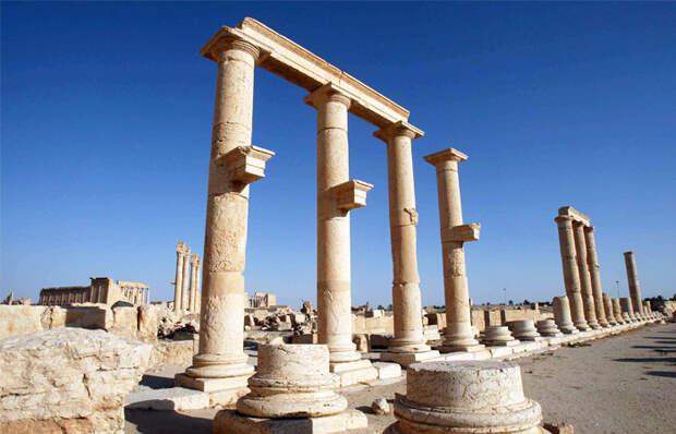 Сокровища древней Пальмиры