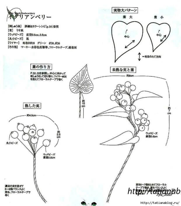 302_Ondori. Flowers. Wire Work Embroidery - 2006.page51 copy (616x700, 181Kb)