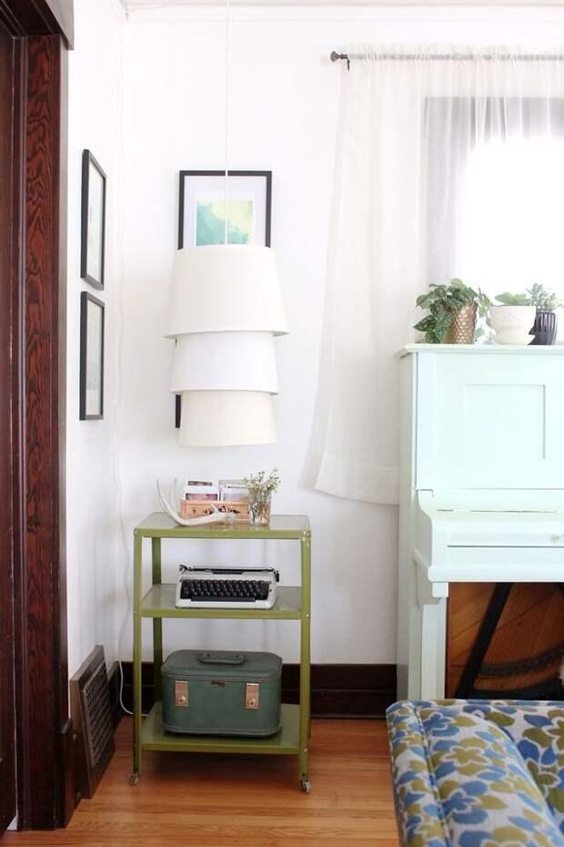 Креативная тройная лампа (Diy)