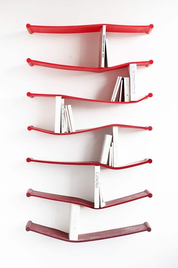 Резиновые полки для книг