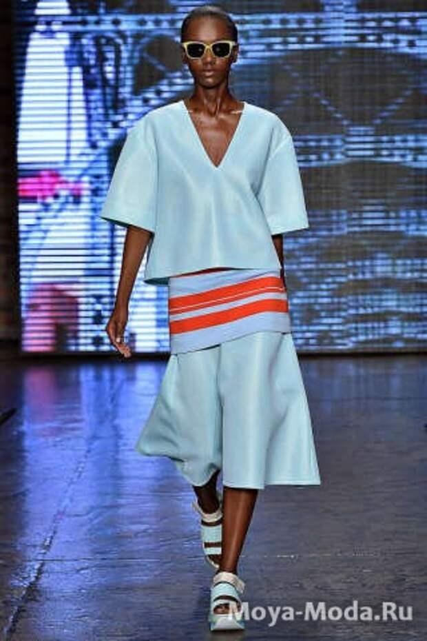 Модные юбки весна-лето 2015 DKNY