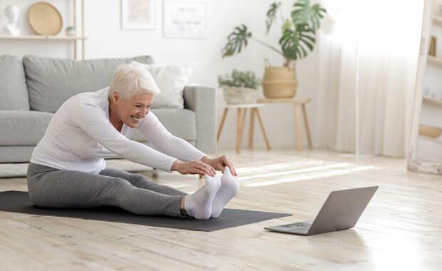 Оздоровительная гимнастика сохранит здоровье пенсионеров из Бабушкинского