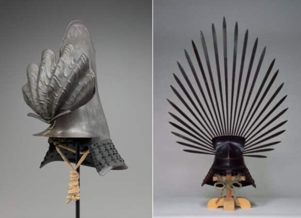 Ещё один самурайский шлем.