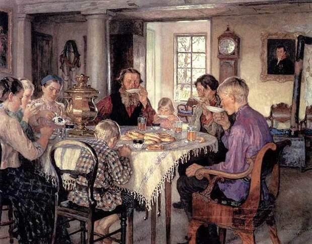 Когда на Руси стали чай пить