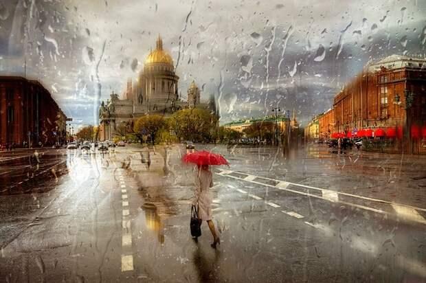 Русский фотограф снимает потрясающие «дождливые» фотографии, похожие на картины маслом