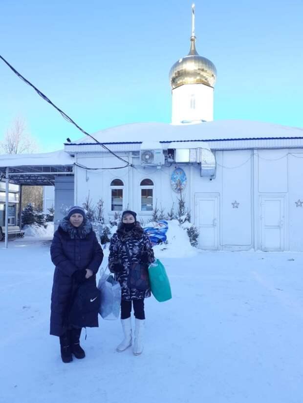 Волонтеры из Куркина помогли семье в Щукине одеть семерых детей