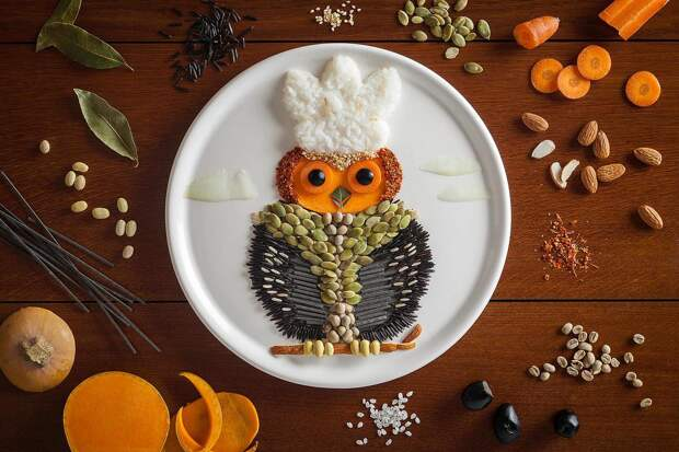 Креативные фотографии еды от художницы Anna Keville Joyce