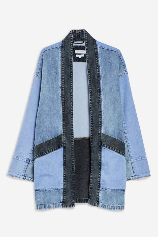 Джинсовое кимоно TopShop