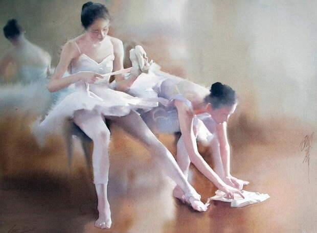 Легкость и очарование балета: 11 воздушных акварелей