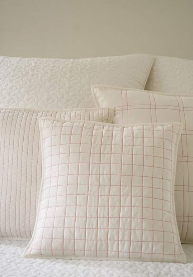 Стеганые подушки