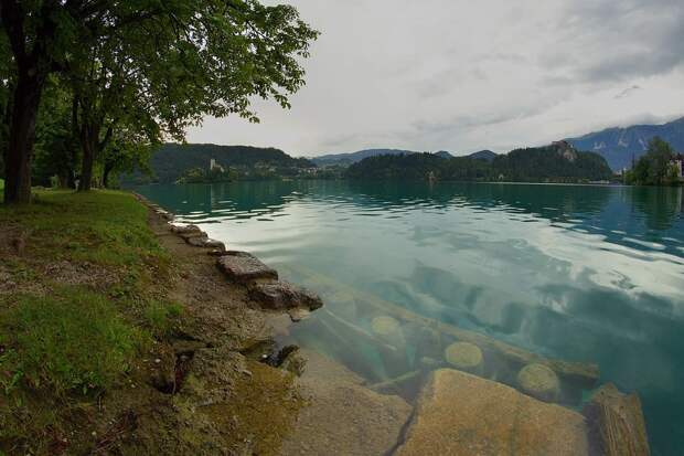 Озеро Блед — лучшее место для тех, кто обожает тишину и спокойствие