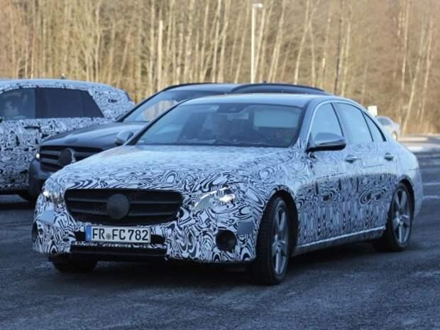Новый Mercedes-Benz E-класса впечатлит моторами