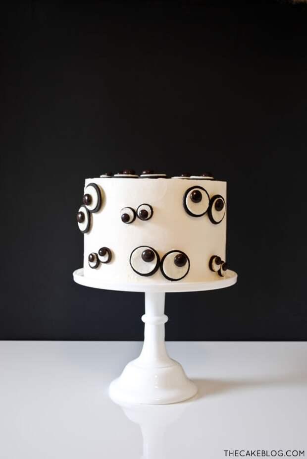 Глазастый торт (Diy)