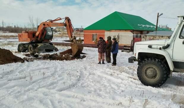 В Домбаровском районе ликвидировали аварию на водоводе